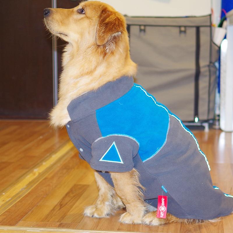 Winter Pet Dog Clothes For Dog Large Fleece Dog Coats ...