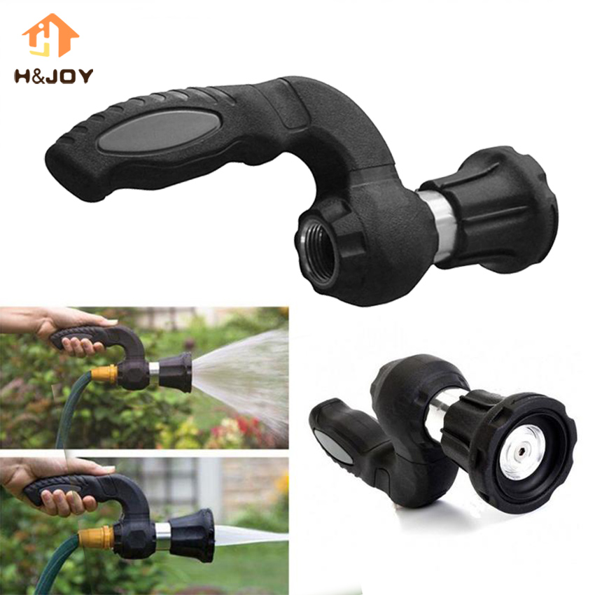 Mighty Power Hose Blaster Fireman S Nozzle Lawn Garden Super Powerful Home Original Car Washing by