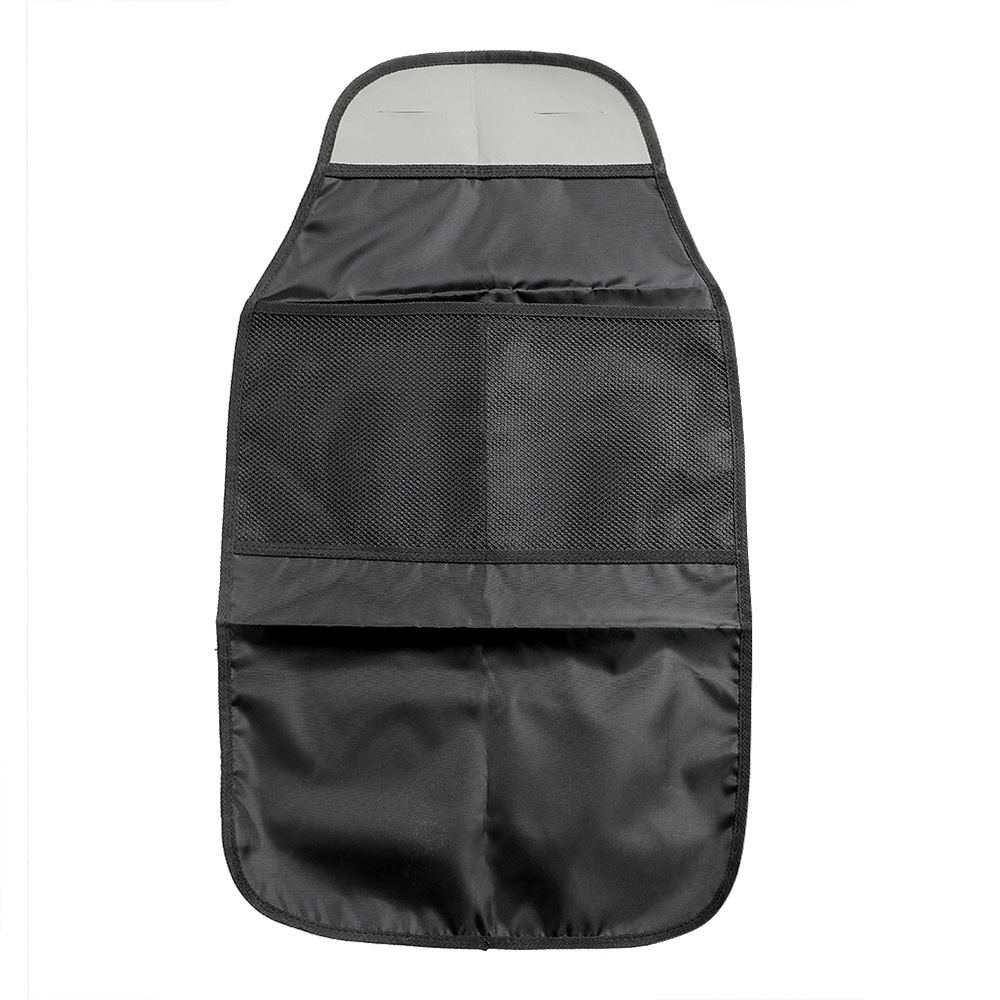 Bag Holder Anti Dirty Mat Storage Food Drink Bottles Car Seat Back Protector Automobiles Seat Covers Baby Child Kick Black