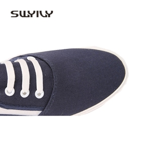 Image 5 - SWYIVY 44 Unix trampki 2018 wiosna lato kobieta płótno kapcie miłośników wygodne wsuwane leniwe buty kobiece oddychające sneakersy
