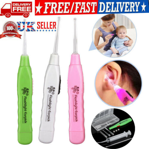 Hot Spoon Earpick Clean Wax Remover Ear Cleaner Picker Health Care Colorful