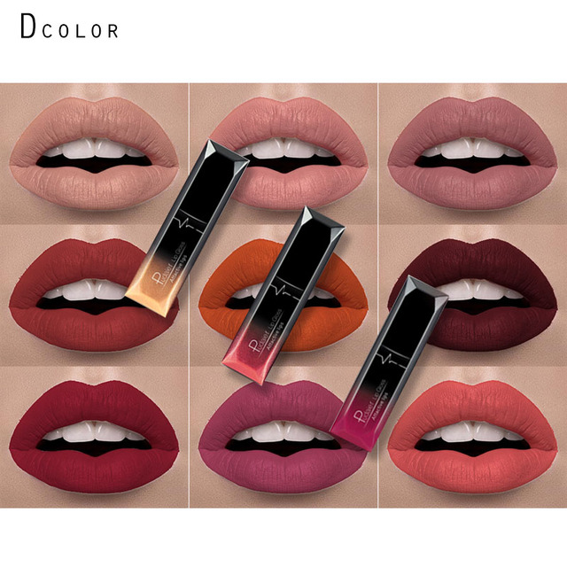 Top 2017 pudaier marque mat liquide rouge à lèvres mat rouge à lèvres  OT59