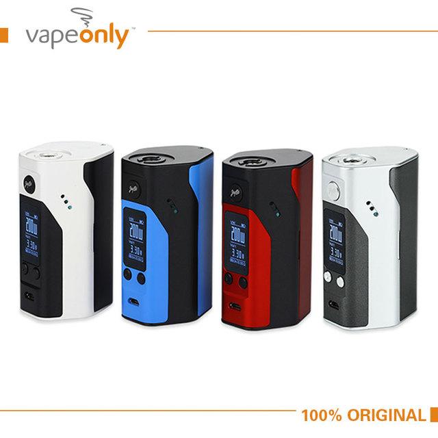 Cigarrillo electrónico wismec reuleaux rx200s tc 200 w caja mod pantalla oled con firmware actualizable reuleaux rx200s 100% original