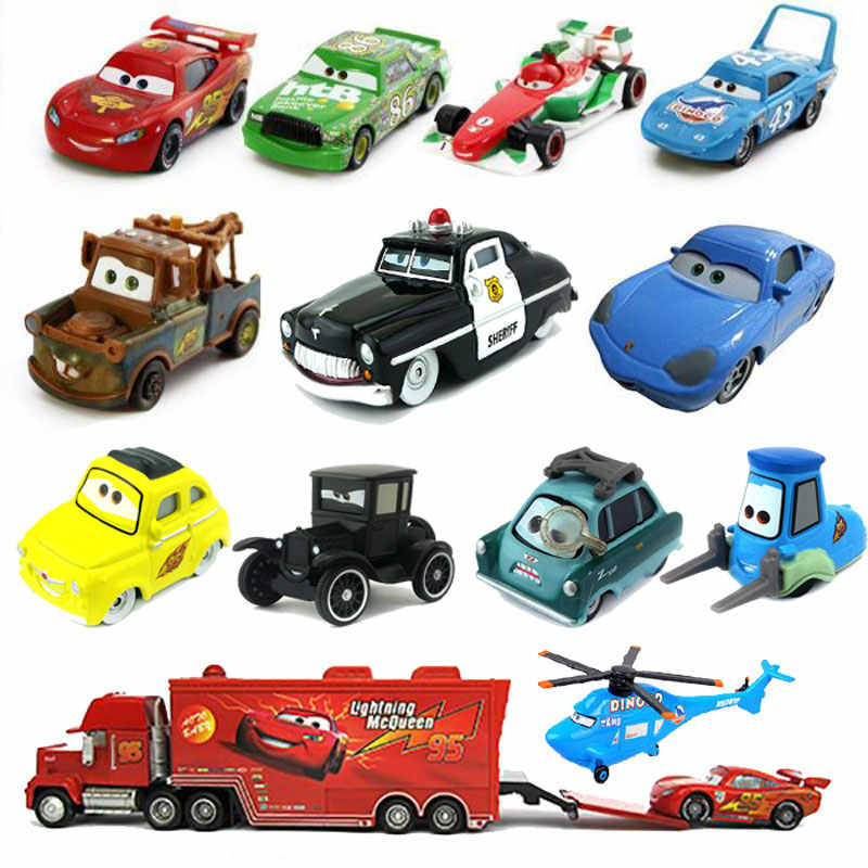 Original Disney Pixar Cars 2 Toys Lightning Mcqueen The Kings Doc