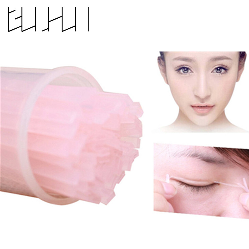 200 Pcs Invisible Double Eyelid Fiber Magic Beautiful Eyes Stickers Eyelid Past Eyes Beauty Cosmetic Makeup Tools