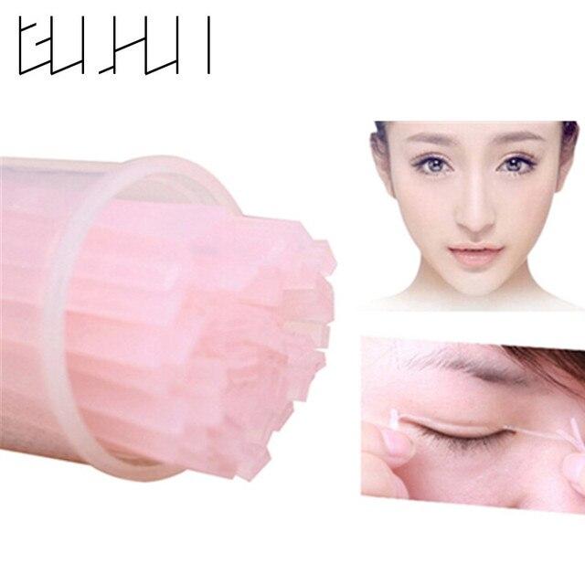200 piezas Invisible doble fibra de párpados magia hermosos ojos pegatinas ojos pasados belleza cosméticos herramientas de maquillaje