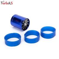 Triclicks Dual Turbo Air Intake-gas-kraftstoff-retter-ventilator Turbo Kompressor Fans Universal Turbine Turbolader Für Nissan Lada Ford
