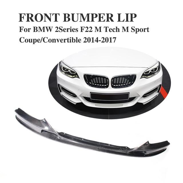 Car Accessories Carbon Fiber Front Bumper Lip Chin Spoiler Apron ...