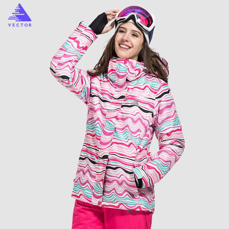 VECTOR Brand Women Ski Jacket Windproof Waterproof Warm Winter Jackets Skiing Snowboarding Clothing Outdoor Sport Snow Coat men skiing jackets warm waterproof windproof cotton snowboarding jacket shooting camping travel climbing skating hiking ski coat