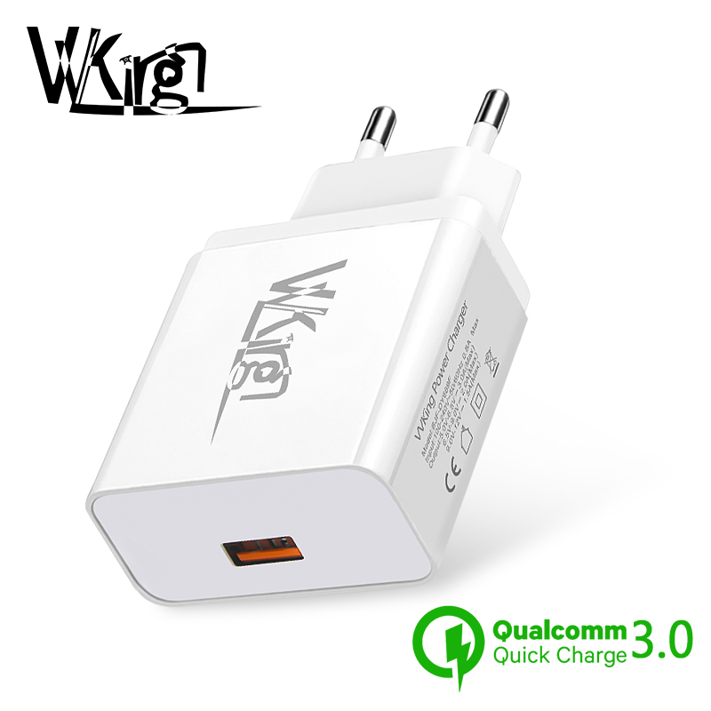 VVKing Quick Charge 3.0 USB Charger Fast Charging EU/US Plug Adapter For iPhone Samsung Xiaomi Huawei Mobile Phone Wall Charger