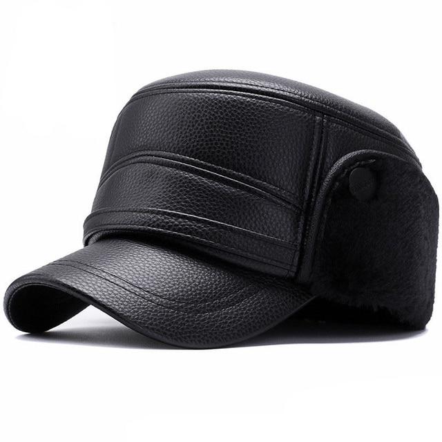 black Black leather ottoman 5c64f17631edf