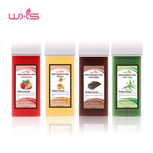 100g Depilatory Wax Cartridge Hair Removal Cream Beeswax 5 Flavor Strawberry Rose Chocolate Honey Roll-On Hot Wax All Types Skin(China)