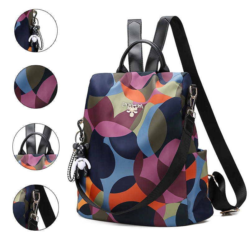 Backpack Casual Anti Theft Backpack For Teenager Girls Women Oxford Multifuction Bagpack Schoolbag 2019 Sac A Dos Mochila