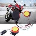 Más nuevo Sistema de Alarma de La Motocicleta antirrobo Sistema de Alarma de Seguridad de Control Remoto de Arranque Del Motor con 2X3 V CR2025 batería