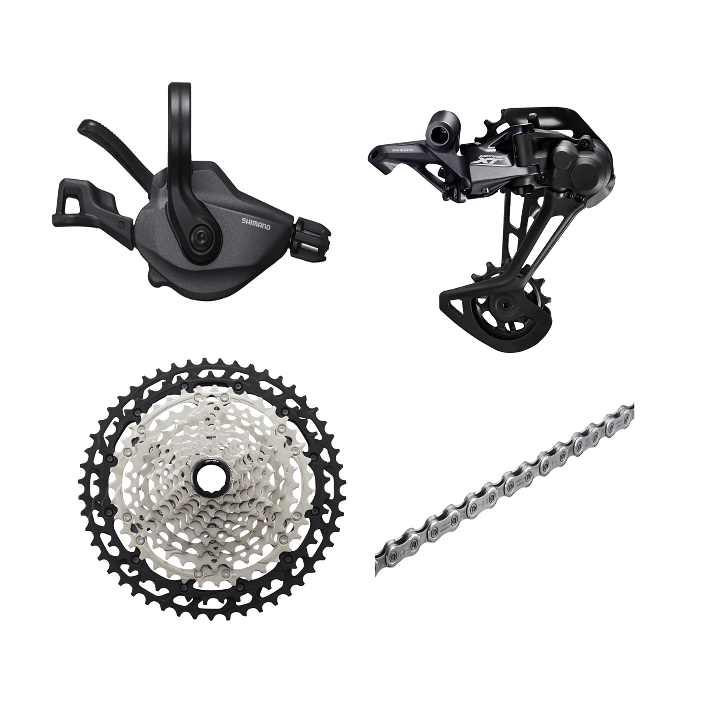 Shiman deore <font><b>xt</b></font> <font><b>M8100</b></font> mtb 12s-speed bike kit GS SGS Rear Derailleur 10-46T 10-51T image