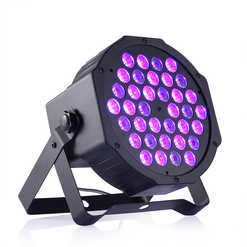 100% Brand New Professional 36 Leds UV LED Stage Light Effect Disco DJ Bar Effect UP Lighting Show DMX Strobe for Party KTV rg mini 3 lens 24 patterns led laser projector stage lighting effect 3w blue for dj disco party club laser