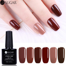 UR Kopi Gula Coklat Series Kuku Gel Polandia Cantik Caramel Kopi Warna Uv Gel Polish 7.5 Ml Rendam Off UV gel Varnish Lacquer(China)