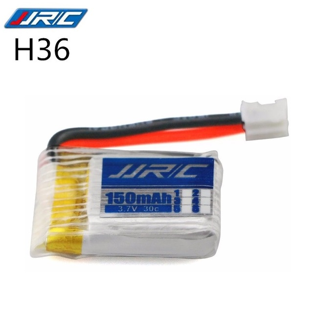 RCONLY JJRC H36 RC Quadcopter Spares Parts 3.7V 150MAH Lipo Battery For RC Camera Drone Accessories