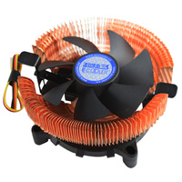 PCcooler E98 CPU Cooler 80mm Fan Pure Copper Radiator For AMD AM2 AM2 AM3 FM1 For