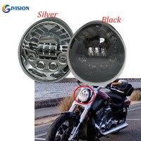 Motorcycle LED Headlight Daymaker headlamp High Low For Harley VRSCA V Rod VRod VRSC Headlight VRSC/V ROD LED headlights