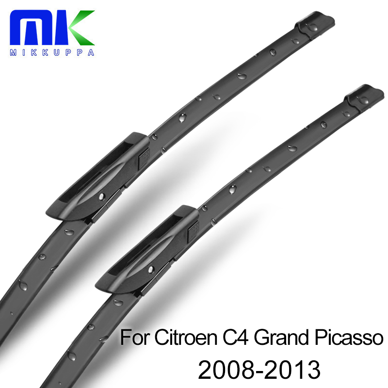 MIKKUPPA Front And Rear Wiper Blades For Citroen C4 Grand Picasso 2008 2009 2010 2011 2012 2013