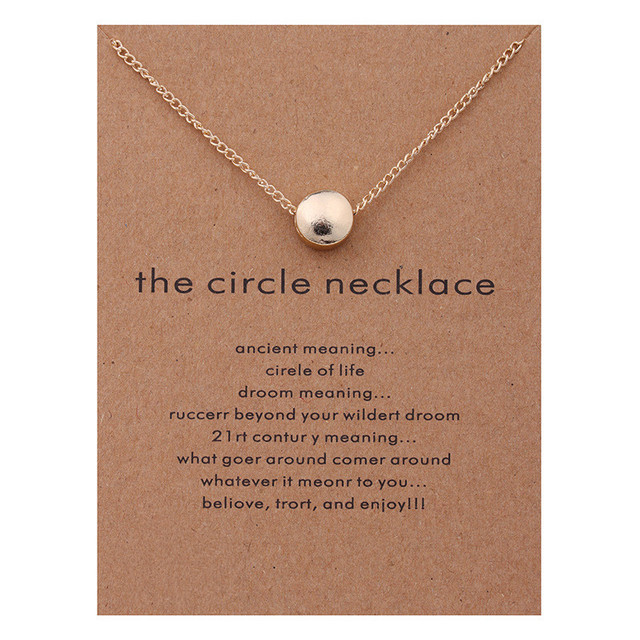 Karma necklaces pendants gold color the circle maxi necklace women karma necklaces pendants gold color the circle maxi necklace women aloadofball Images