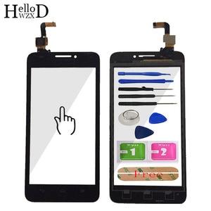 Image 2 - 5.0 verre décran tactile de téléphone portable pour HuaWei Ascend G620 G620S écran tactile verre numériseur panneau lentille capteur outils adhésif