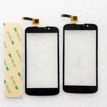 4.3 дюймов сенсорный телефон для highscreen omega prime mini сенсорный экран переднее стекло датчик планшета бесплатная доставка