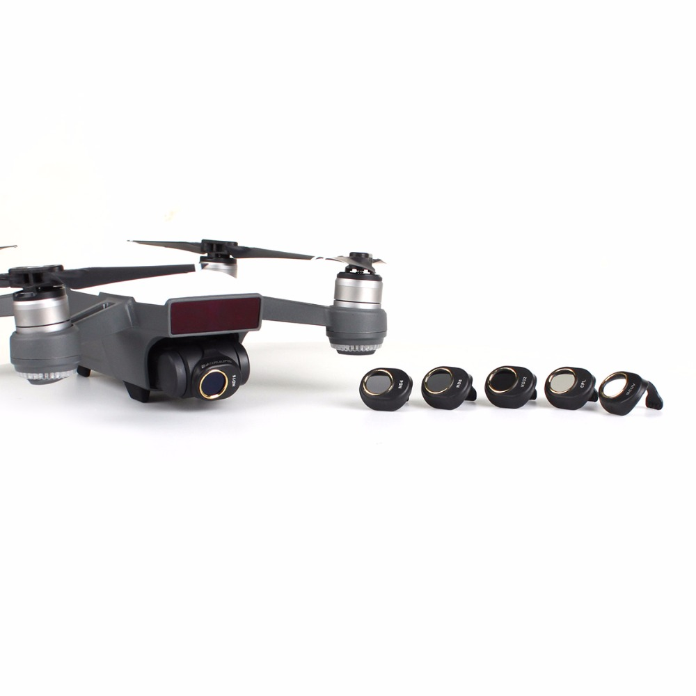 Gimbal Camera Lens Filter ND4 ND8 ND16 ND32 CPL MCUV Single Filter & Kit for DJI SPARK Drones