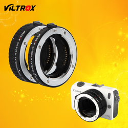 Viltrox DG-EOS M Auto Focus Macro Extension Tube Lens Adapter for Canon EOS M lens to EOS M EF-M M2 M3 M5 M6 M10 M50 M100 Camera