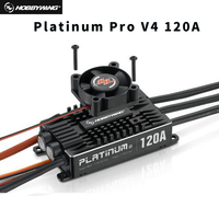Original Hobbywing Platinum 120A Pro V4 3 6S Lipo BEC Empty Mold Brushless ESC for RC Drone Aircraft Helicopter