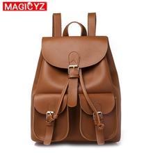 MAGICYZ Women Backpack Preppy Style School Bags For Teenagers Girls Casual Shoulder Bag Backpack Female Rucksack Bagpack Mochila