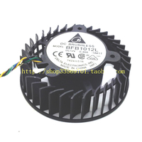 1 Computer VGA Cooler graphics cooling fan 4wire 4Pin For NVIDIA 8800GTX reference design Video Card Cooling as replacement