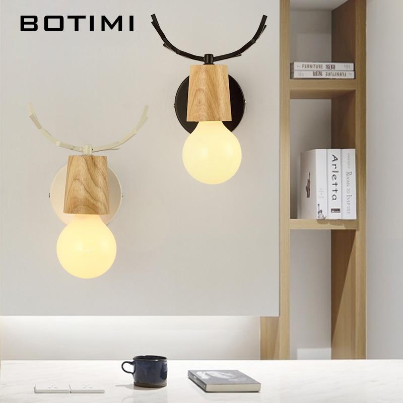 botimi criativo lampada de parede para sala estar decoracao do hotel lampada parede moderna decorativa branco