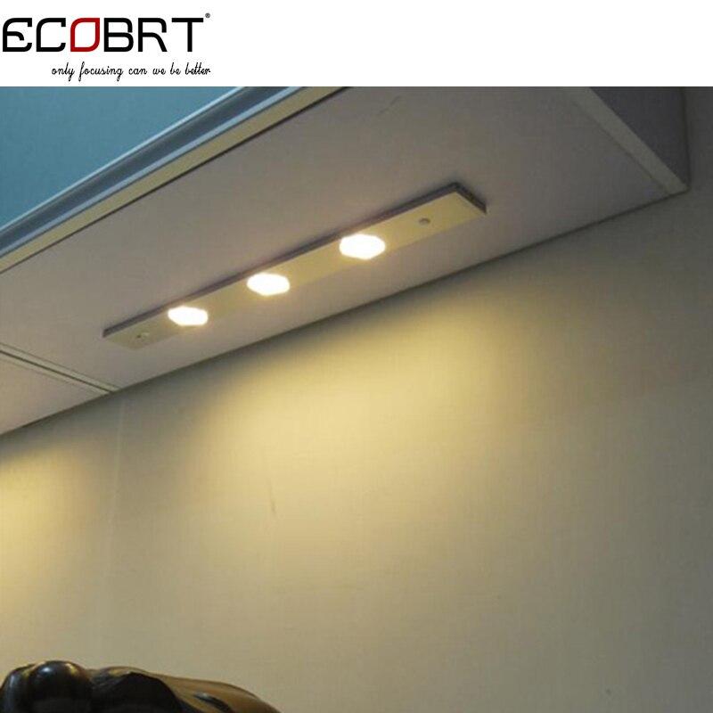 moderne 45 cm lange aluminium lineaire 12 v led bar licht ir sensor onder keukenkast verlichtingsarmaturen swing op uit schakelaar in moderne 45 cm lange