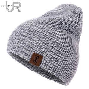 2e42d33272c9 URGENTMAN 1 Pcs Warm Knitted Winter Beanie Hat Unisex Cap