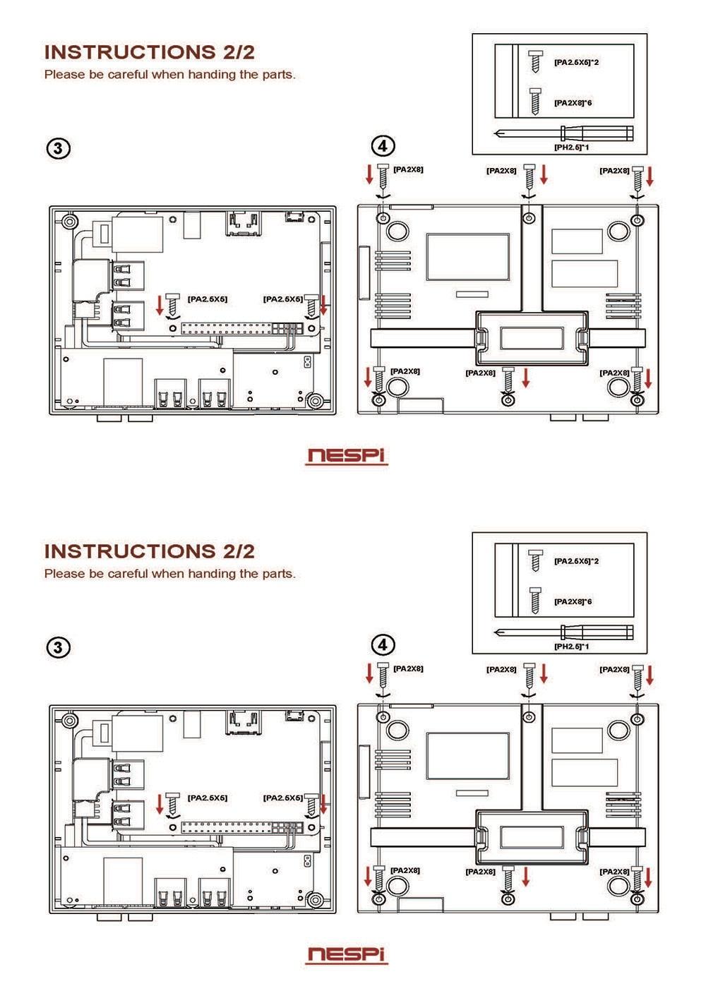 Raspberry Pi 3B+/3B/2B/B+ NES FS Style NESPi Pro Case with
