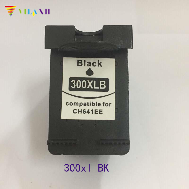Vilaxh compatible 300 Ink cartridge replacement For HP 300 300xl Deskjet D1660 D2560 D5560 F2420 F2480 F4210 F4280 F4580 printer in Ink Cartridges from Computer Office
