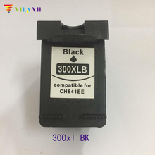 1pc For hp300 300 xl Ink cartridge for hp 300xl For HP Deskjet D1660 D2560 D5560 F2420 F2480 F4210 F4272 F4280 F4580 printer ink high ink volume re manufactured ink cartridge for hp 300xl 15 17ml cc644ee 300xl tri colour inkjet cartridge for deskjet d2660