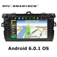 SMARTECH Car DVD Player GPS Navigation 2 Din Android 6 0 1 Quad Core 8 Inch