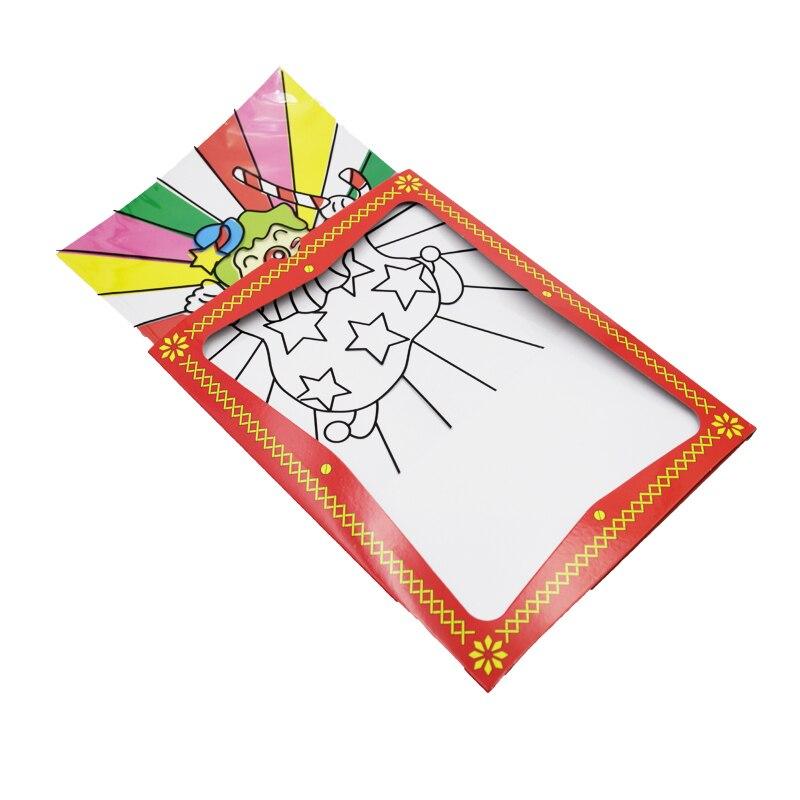 1pcs Clown Color Changing Card Big size magic tricks illusions street mentalism stage close up magic props  kids children toy  mannequin
