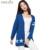 Mulheres Cardigan Outono Inverno Estrela Do Crânio Jacquard Cor Azul Cashmere Blending Personalidade Femme Camisola Cardigans Casaco Outwear