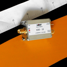 Free shipping KDE-18 1~8000MHz broadband RF power meter, active logarithmic detector AD8318 module