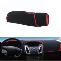 Fit For Focus New Car Dashboard Avoid Light Pad Instrument Platform Desk Cover Mat Silicone Non