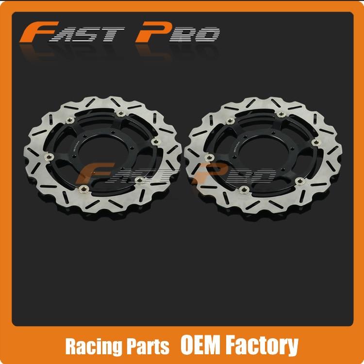 Front Brake Disc Rotor For Honda CBR600 F4i CBR600F F4 CB919F Hornet VTX1800 VTX1800N VTX1800F VTX1800R VTX1800S VTX1800T rear brake disc rotor for honda cb400 cbr400rr cb600 cbr600f cbr600r cbr600rr cbr600se cbr600 cbr 600 f3 f4 f4i sjr cb 400