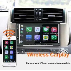 Image 2 - 2019 Không Dây Phát Thanh Xe Hơi Apple Carplay & Android Tự Động Liên Kết USB Dongle Với Điều Khiển Màn Hình Cảm Ứng Cho Android Điều Hướng DVD hệ Thống