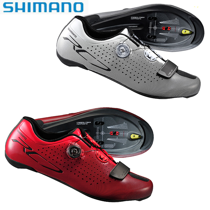SHIMANO Cycling Locking Shoes SH RC7 SPD SL Road Cycling Bike Shoes Riding Equipment Athletic Bicycle Cycling Locking Shoes 2018