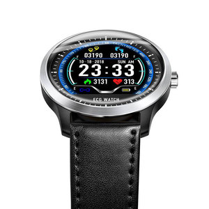 Image 4 - 2019N58 High end ECG PPG Smart Watch with Electrocardiograph Ecg Display Holter Ecg Heart Rate Monitor Blood Pressure Smartwatch