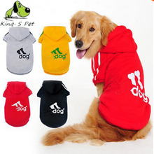 Mascotas adidog perros apparel sportswear golden hoodie hoodies dog large spring