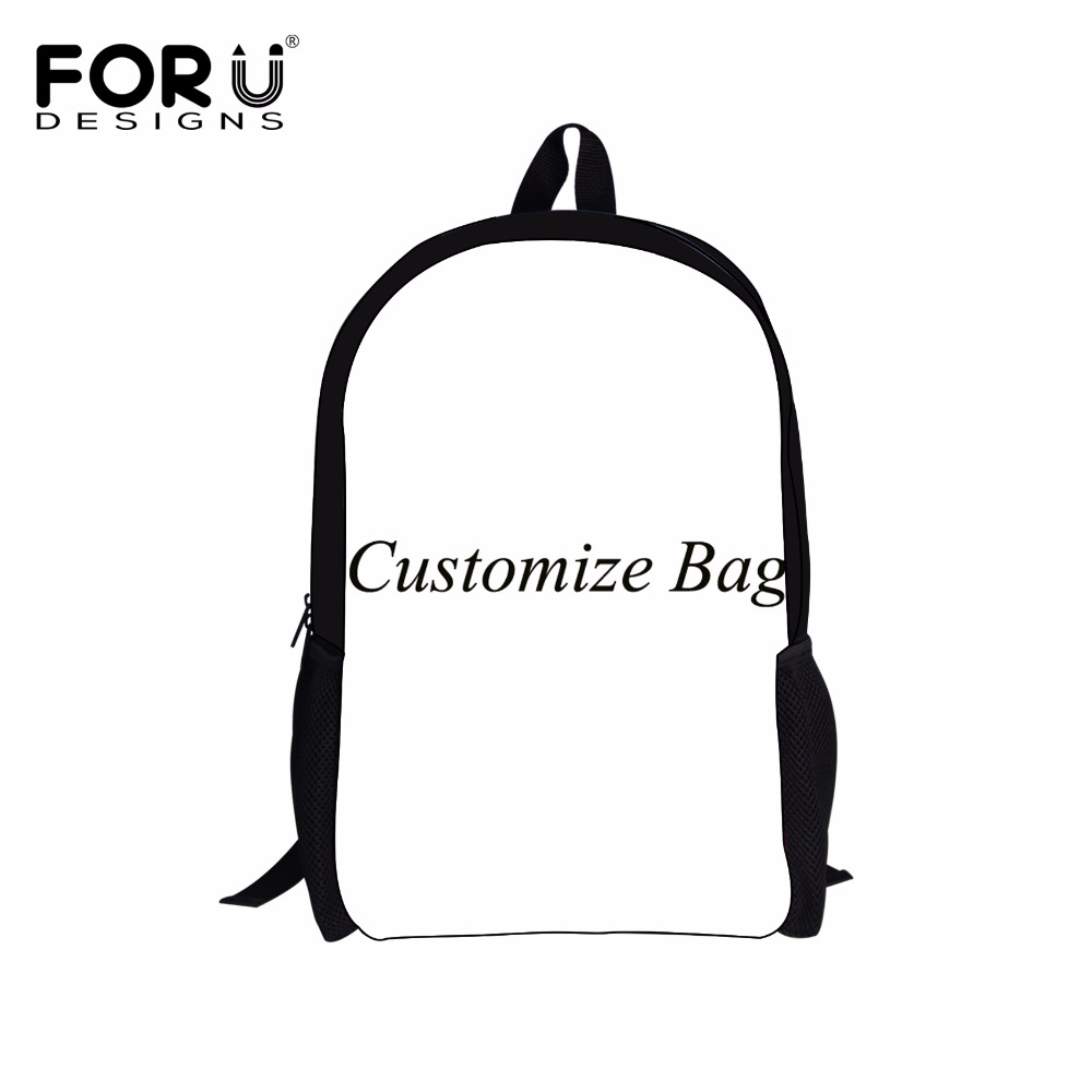 Forudesigns Customize Image Or Logo Women&men Backpack Cartoon Nurse Print School Backpacks For Teenage Girls Boys School Bags